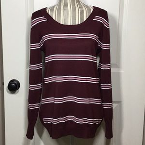 NWT! Olive & Oak Maryanne Striped Pullover -XL